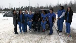 Nursing students give back