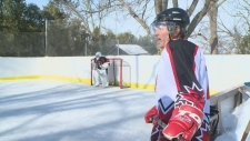 Backyard beauty: Check out this homemade rink