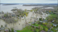 Rigaud's mayor issued a letter explaining the increase to taxpayers. It says the spring flooding is largely to blame – costing Rigaud around $400,000 at the time. (CTV Montreal)
