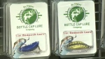 Norm Price, the man who created the bottle cap lure, says all profits go to a non-profit group that aims to keep bottle caps out of landfills.