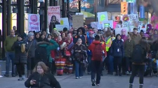 Calgarians march for women's rights