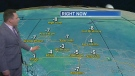 Warm conditions return. Warren has details...