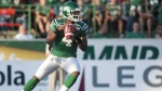 The Florence, South Carolina native is currently 14th all-time in CFL passing yards with 31,740. (Source: Liam Richards/ The Canadian Press)