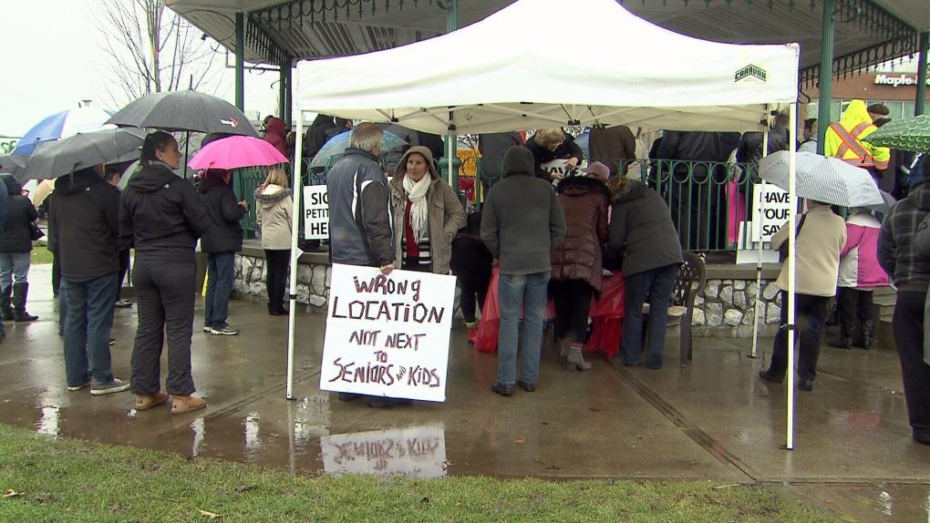 Maple Ridge Protest