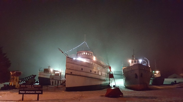 A beautiful night to visit the Marine Museum of Manitoba. Photo by: Tom Kostyk