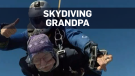 Grandpa soars to celebrate turning 90