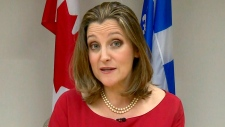 CTV QP: Freeland on state of NAFTA talks