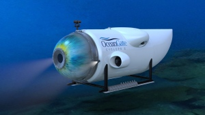 OceanGate's Cyclops 2 submersible is shown in this undated handout image. (OceanGate)