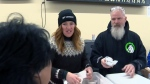 Olympian Clara Hughes hosts tour