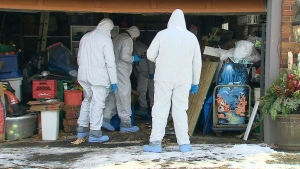 CTV National News: Police search Toronto property