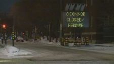 O'Connor Street closed for six weeks
