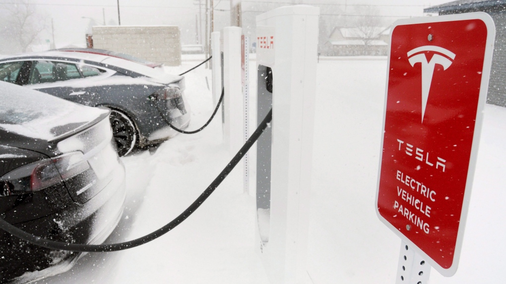 Tesla to install Atlantic Canada 'supercharger' stations for