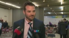 Raphael Fortin, 37, was chosen leader of the NDP Quebec on Jan. 21, 2018