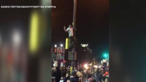 Greased poles in Philadelphia didn't stop Eagles f