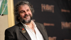 """In this Dec. 9, 2014 file photo, Peter Jackson arrives at the Los Angeles premiere of """"The Hobbit: The Battle Of The Five Armies"""" at the Dolby Theatre. (Chris Pizzello / Invision / AP)"""