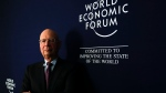 Klaus Schwab, founder and Executive Chairman of the World Economic Forum, poses for a photo during an interview by the Associated Press on the eve of the World Economic Forum, WEF, in Davos, Switzerland, Monday, Jan. 22, 2018. (AP / Markus Schreiber)