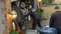 Police bring items out of a Leaside home reportedly connected to the case against 66-year-old landscaper Bruce McArthur.