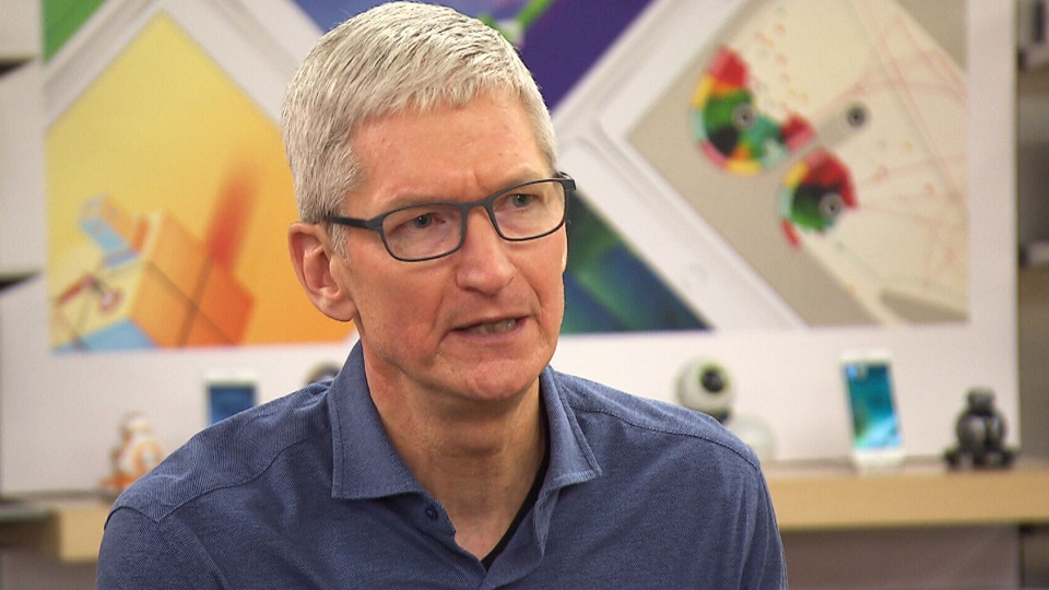 Apple CEO Tim Cook sits down with CTV's Your Morning for an exclusive interview to discuss his company's new partnership with Malala Yousafzai.