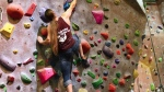 Vertically Inclined Rock Gym