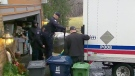 Items removed from Leaside home
