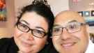 Amancio Hernandez, right, is seen in this photo from a GoFundMe page.