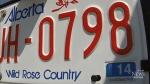 Sask., Alta. end licence plate debate