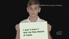 Yazidi boy wants to meet prime minister