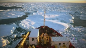 'Breaking Ice' on arctic science