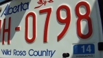 Licence plate ban dropped