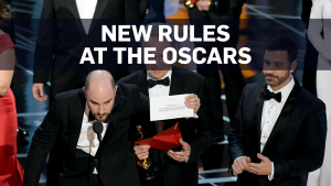 New rules to prevent envelope mishap at the Oscars