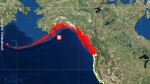 Tsunami warning issued for B.C. and Alaska