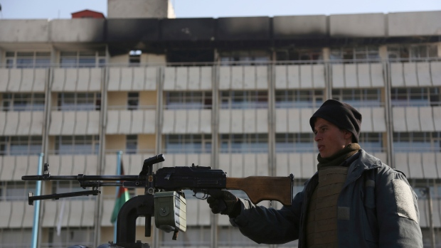 Official: Americans killed, injured in attack on Kabul hotel