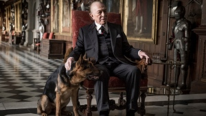 This image released by Sony Pictures shows Christopher Plummer in a scene from 'All the Money in the World.' (Giles Keyte/Sony Pictures via AP)