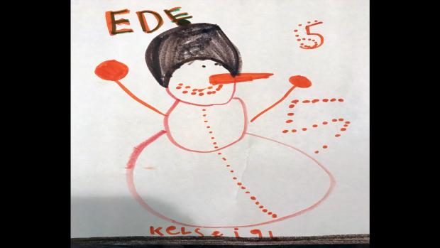 Kelseigh Taylor, 5 years old, École Élémentaire Catholique L'Étoile de L'Est, Orléans