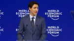 Trudeau speaks at Davos