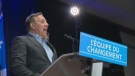 CAQ leader Francois Legault discusses his plan for a flat school tax rate across Quebec (Jan. 23, 2018)
