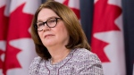 Indigenous Services Minister Jane Philpott listens to a questions during a news conference in Ottawa, Tuesday January 23, 2018. THE CANADIAN PRESS/Adrian Wyld