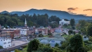 This undated image shows Sylva, N.C., one of several locations in the state where - despite its title - 'Three Billboards Outside Ebbing, Missouri' was filmed. (VisitNC.com via AP)