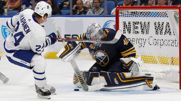 Maple Leafs' Zaitsev, Rielly both skate, statuses undetermined