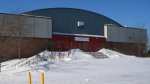 An ammonia leak has temporarily closed the Robert-Guertin Arena, seen here in a file photo.