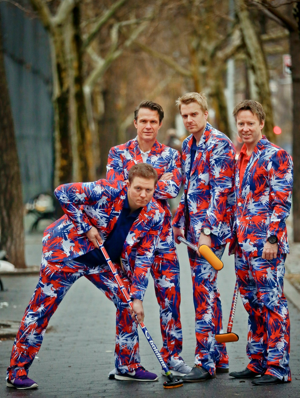 Norwegian Curlers Bringing Crazy Pants Back To Olympics