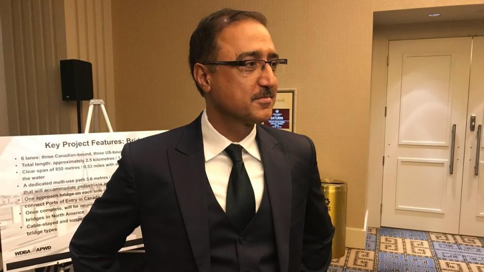 Infrastructure Minister Amarjeet Sohi