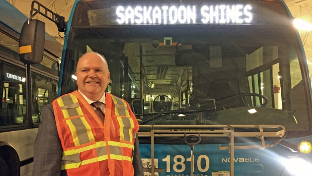 Saskatoon Transit director Jim McDonald