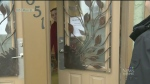 Business owner locks doors to keep meth users out