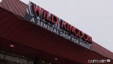 The owner of this Kelowna adult store says robbers terrorized two of her employees by tying them  up while stealing cash and sex toys.