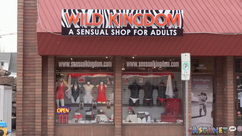 Edmonton adult shop