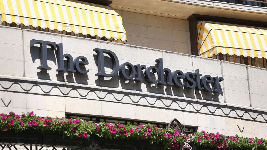 Dorchester hotel in London
