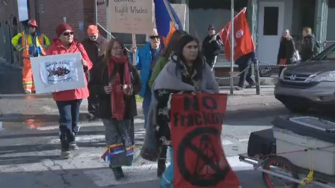 offshore rally in Halifax