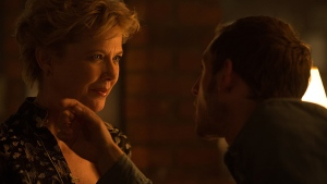 """Annette Bening stars as the actress Gloria Grahame in """"Film Stars Don't Die in Liverpool"""" alongside Jamie Bell who plays her lover. (Sony Pictures Classics)"""