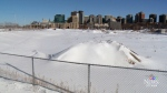 The area known as LeBreton Flats, just west of Ottawa's downtown, sits vacant on Wednesday, Jan. 24, 2018.  The RendezVous LeBreton group will be tasked with cleaning up of the contaminated soil on LeBreton Flats, which once housed a rail yard and had several industrial uses.